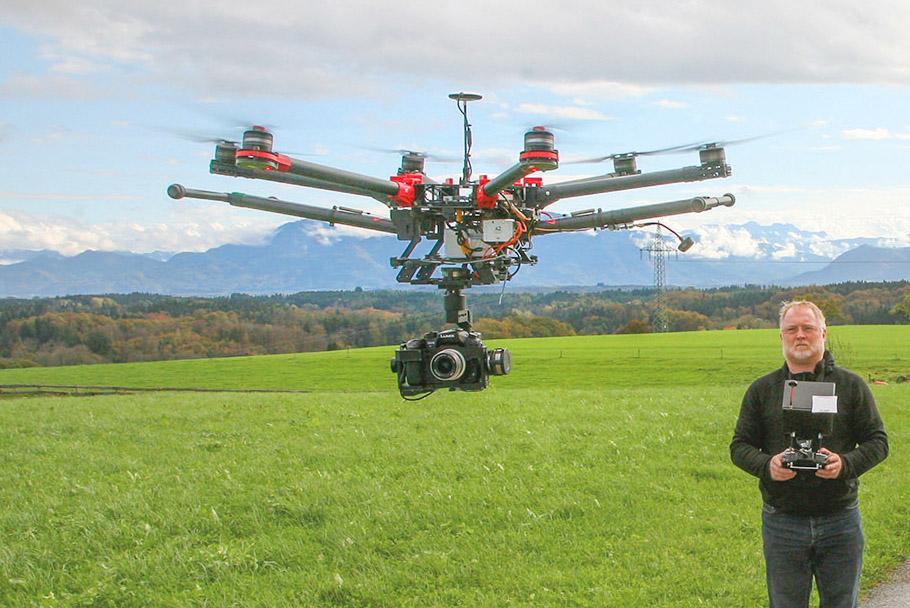 Luftbild, Luftbildaufnahmen, Luftaufnahmen, Kamera-Drohne
